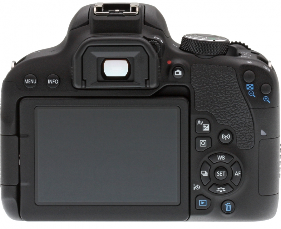 Canon EOS Rebel T7i (EOS 800D) Back