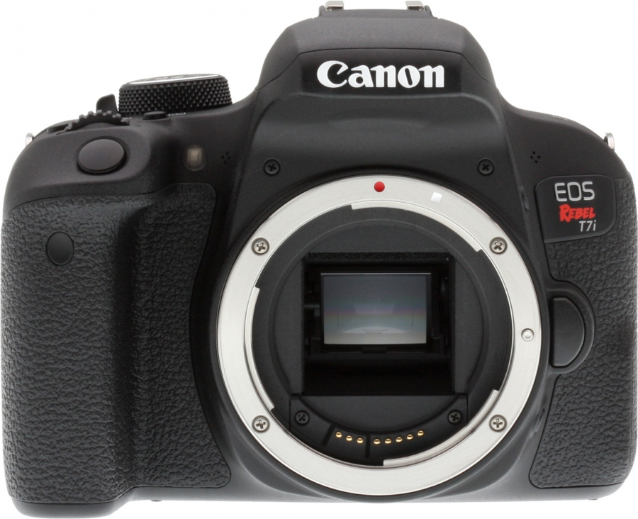 Canon EOS Rebel T7i (EOS 800D) Front