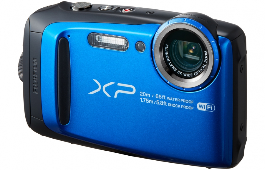 Fujifilm FinePix XP120 Top