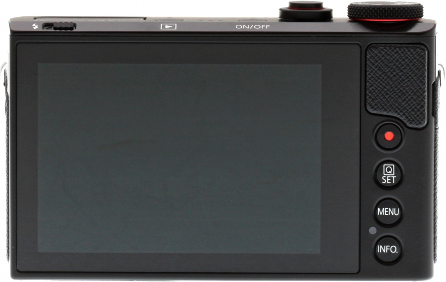 Canon PowerShot G9 X Mark II Back