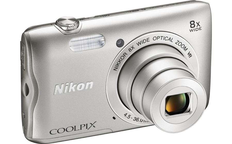 Nikon Coolpix A300 Top