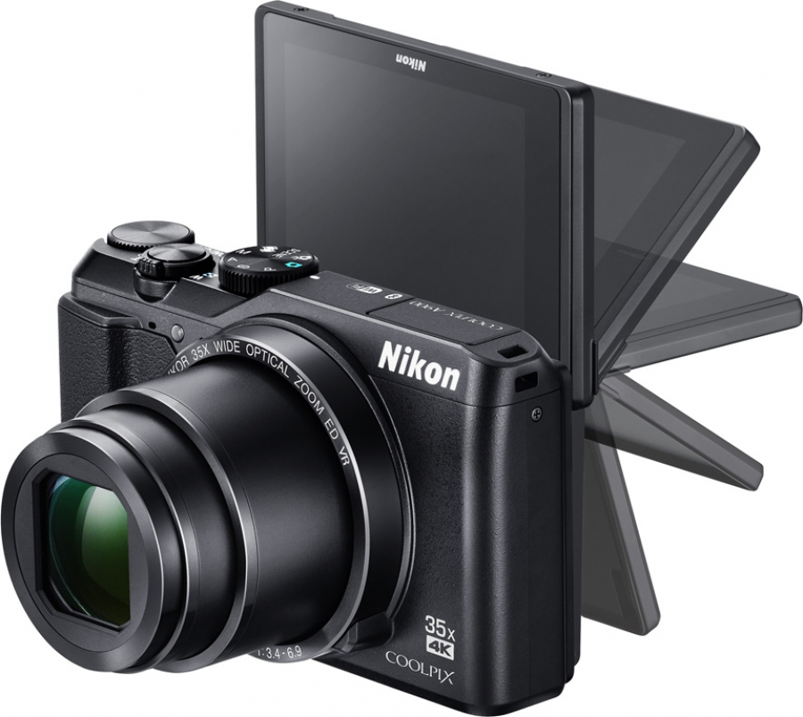 Nikon Coolpix A900 Left