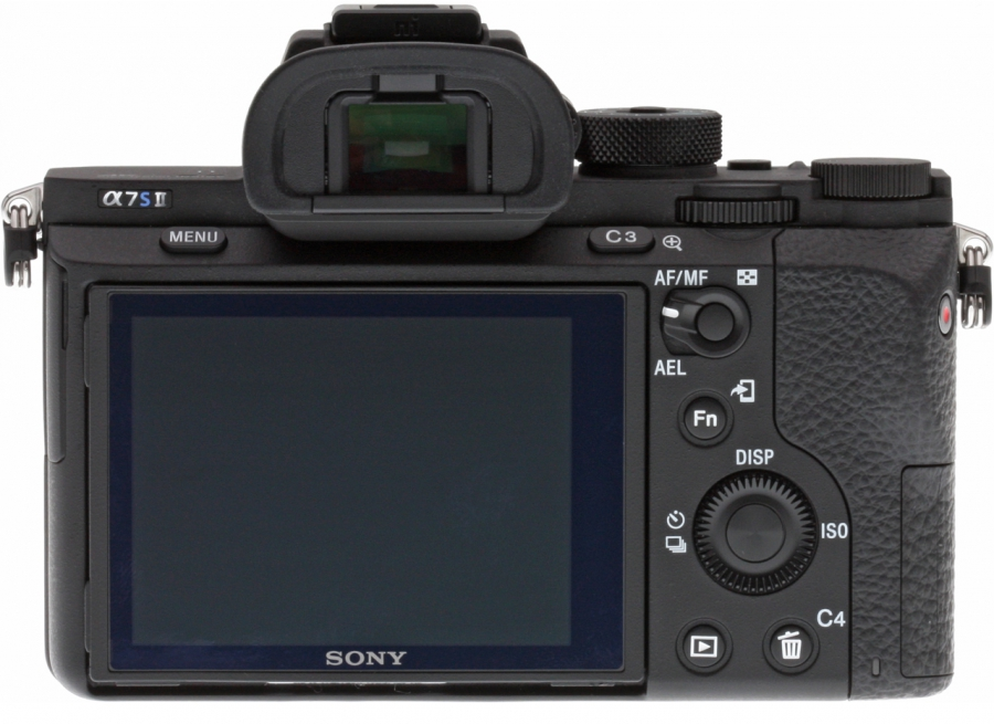 Sony Alpha ILCE-A7S II Back