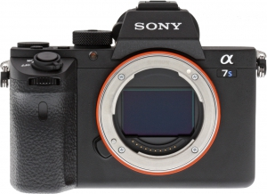 Sony Alpha ILCE-A7S II Front