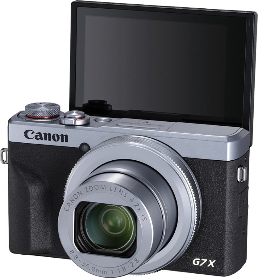 Canon PowerShot G7 X Mark III Left