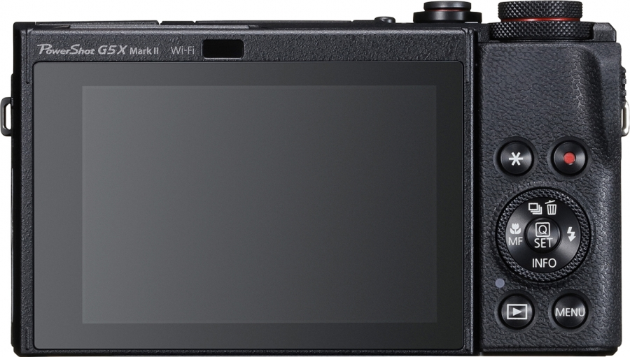 Canon PowerShot G5 X Mark II Back