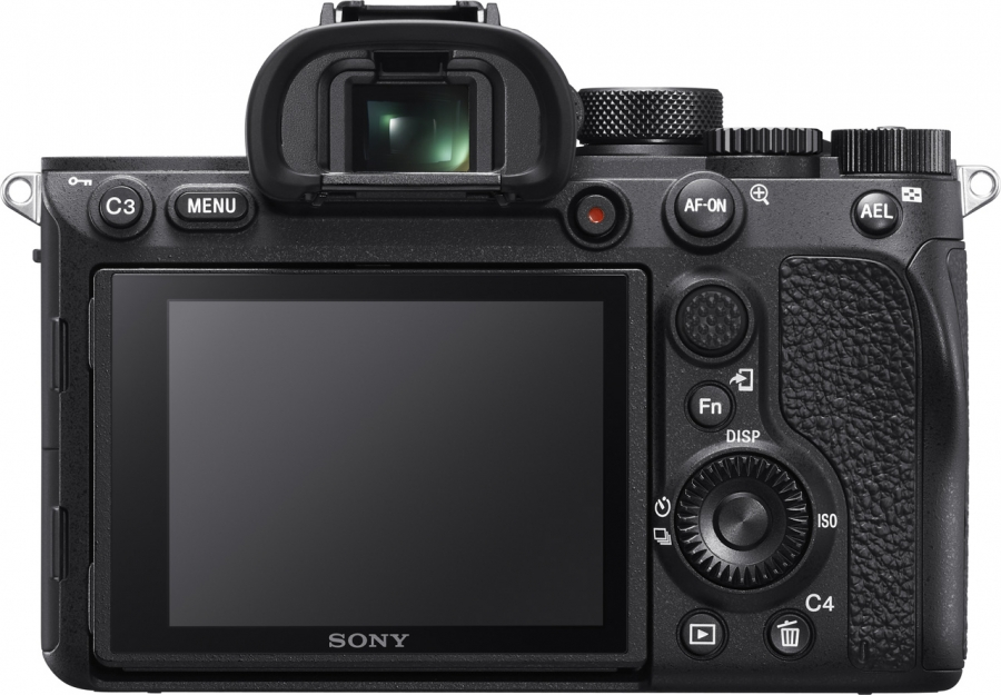Sony Alpha ILCE-A7R IV Back