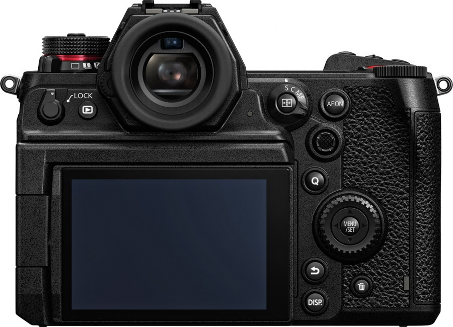 Panasonic Lumix DC-S1H Back