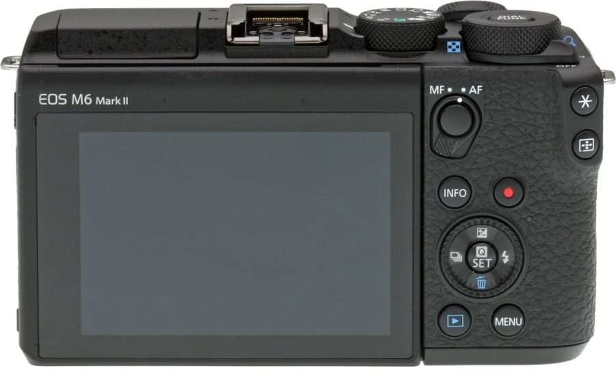 Canon EOS M6 Mark II Back