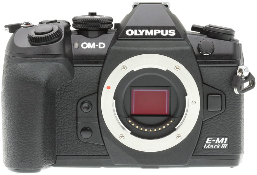 Olympus OM-D E-M1 Mark III Front
