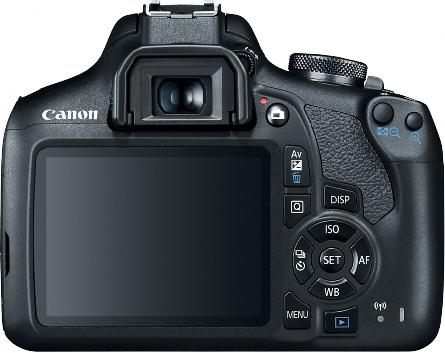 Canon EOS Rebel T7 (EOS 2000D) Back