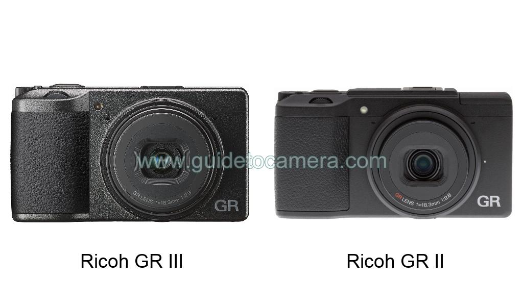 Ricoh GR III vs Ricoh GR II Specifications Comparison - Guid